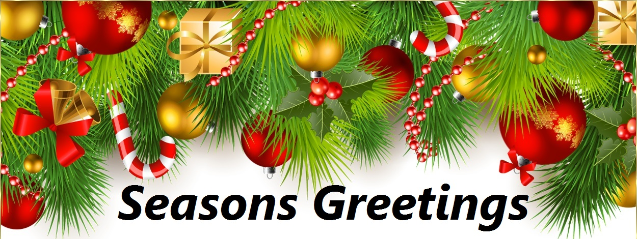 Season Greetings for 2016